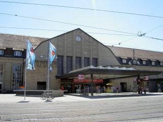 中央駅の表玄関