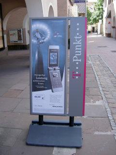 携帯の広告