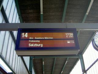 Salzburg行き