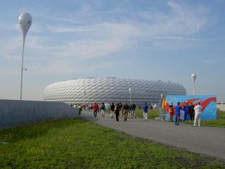 スタジアム近景