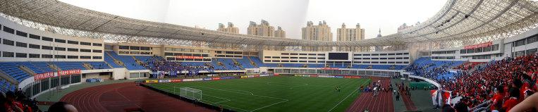 スタジアムのパノラマ
