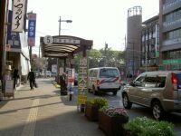 埼大行きバス乗り場
